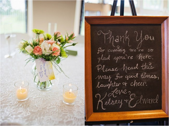 Teal and Peach Wedding by Everlasting Love Photography  via ConfettiDaydreams   .  (10)