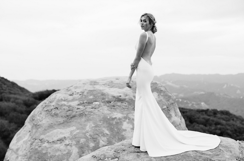 Katie May's Wedding Gown - one of many Seriously HAWT and Unbelievable Backless Wedding Dresses for 2014 on ConfettiDaydreams.com