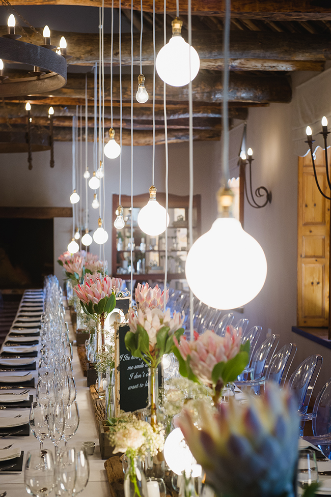 Pure Elegance Wedding Event Décor : Pure vintage elegance blush neutral south african
