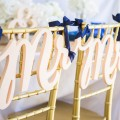 Wedding Chair Decor Covers Signs  1