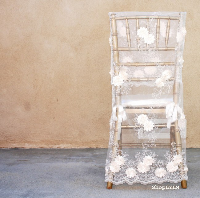 Wedding Chair Decor Covers Signs  6