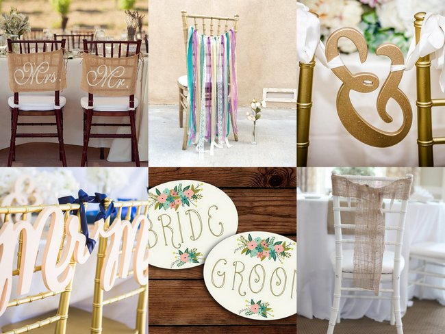 wedding furniture ideas loads of chair swag wedding chair decoration ideas