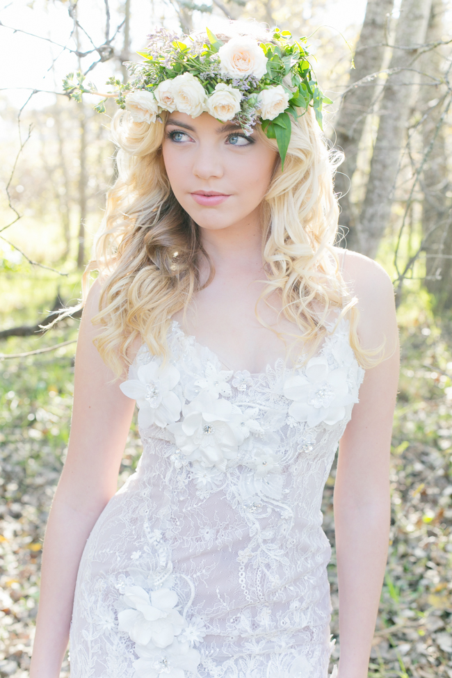 Enchanted Forest Romance by Anna Georgina Wedding Gowns