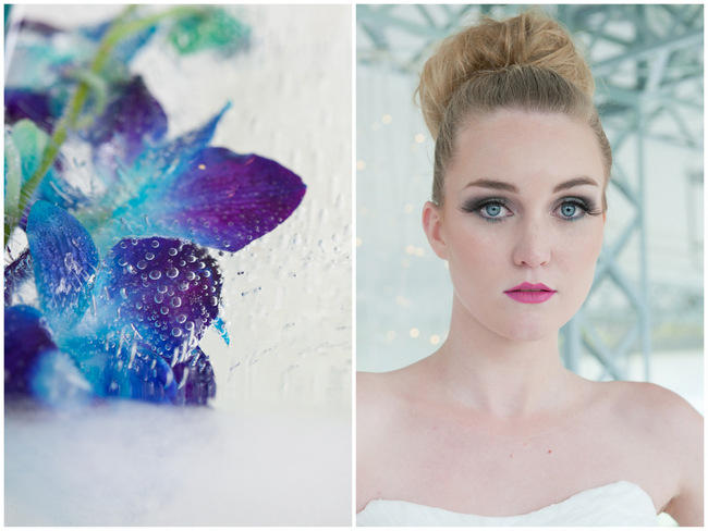// Amazing Blue and Purple Orchid Wedding Ideas // ST Photography // Fleur Le Cordeur // Nina Brown Style Coach // Lisa Brown //