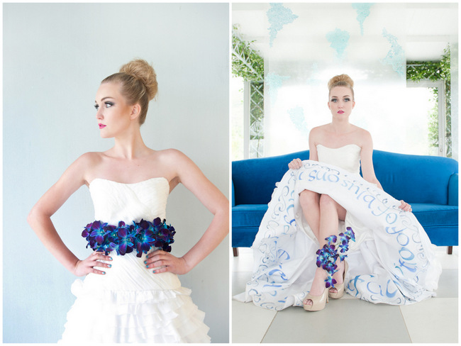 Wedding Stylist Sessions: The Fabulous Fashionista Bride {ST Photography}