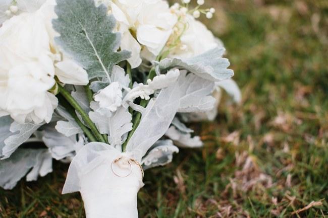 Bouquet   Dreamy Blush Pink Grey California Wedding   Marianne Wilson Photography via ConfettiDaydreams.com