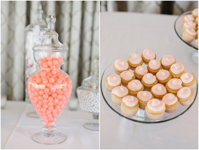 Wedding Reception Decor| Dreamy Blush Pink Grey California Wedding | Marianne Wilson Photography via ConfettiDaydreams.com