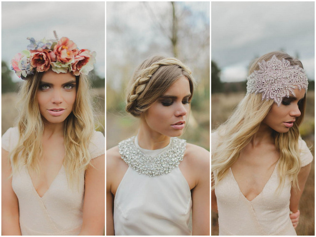 Bohemian Luxe: Laid-Back Bridal Splendor {Kirsty-Lyn Jameson Photography & Gibson Bespoke}