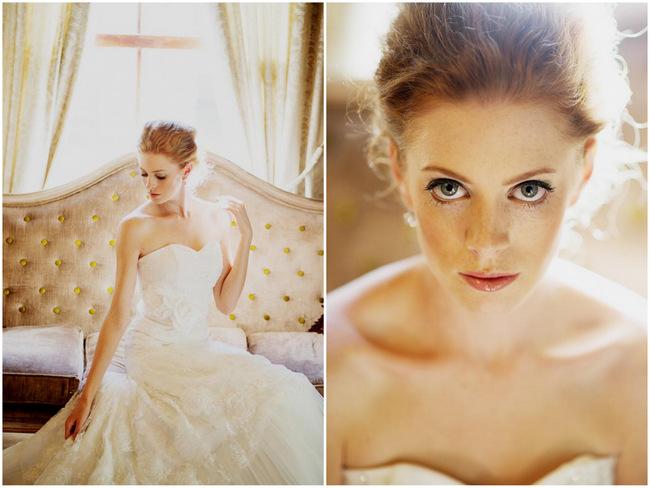 Classic, Vintage-Inspired Bridal Fashion Editorial {Jana Marnewick Photography}