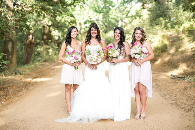 Bridesmaid Photo Ideas / Totally Gorgeous Glitter Blush Pink Gold South African Wedding / Adene Photography /