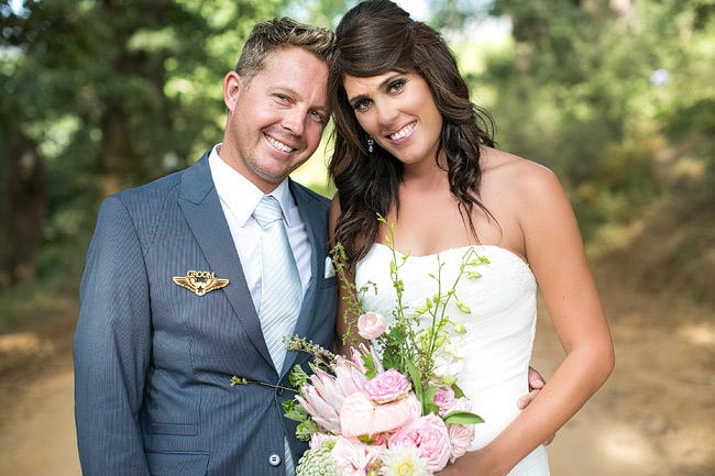 Vineyard Bridal Portraits / Totally Gorgeous Glitter Blush Pink Gold South African Wedding / Adene Photography /
