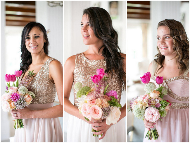 Whimsical Glittering Gold &amp Blush South African Wedding {Adene ...