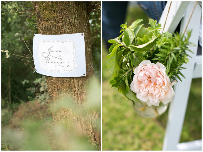Outdoor Wedding Ceremony Decor / Totally Gorgeous Glitter Blush Pink Gold South African Wedding / Adene Photography /