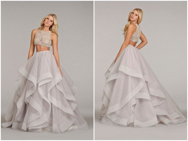 Delectably Feminine Hayley Paige And Blush By Bridal 2017 Collection