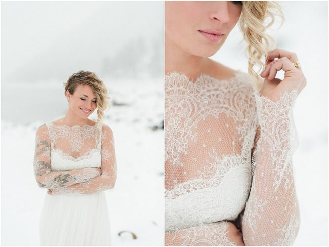 21 Ridiculously Stunning Long Sleeved Wedding Dresses to Covet