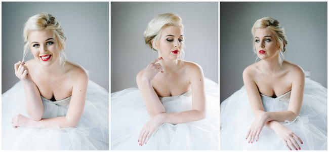 Marilyn Monroe Bridal Portrait Inspiration // Debbie Lourens Photography // Marnel Toerien Hair Make Up // ConfettiDaydreams.com Wedding Blog