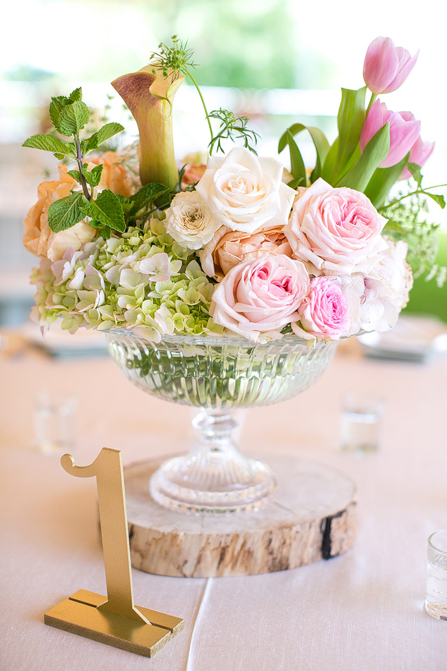 Bright Yellow Purple Pink Tulip Garden Wedding Floral Table Decor at Olive Rock// Adene Photography // Anli Wahl Flowers