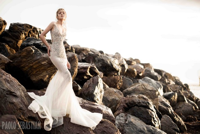 2015 Bridal Collection Premiere: Sirens of the Sea Collection by Paolo Sebastian