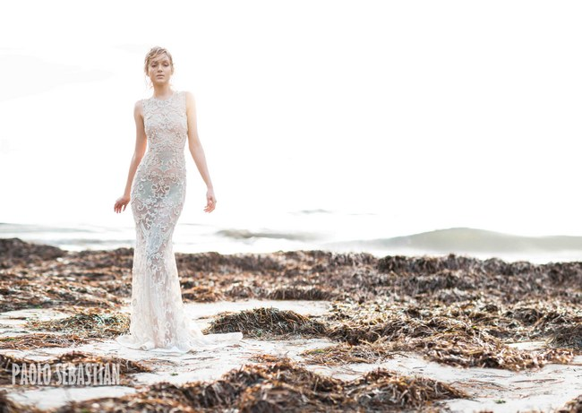 Paolo Sebastian - Sirens of the Sea Bridal Collection  17