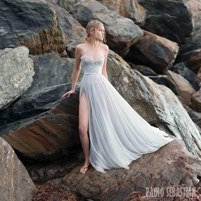 Paolo Sebastian - Sirens of the Sea Bridal Collection  19
