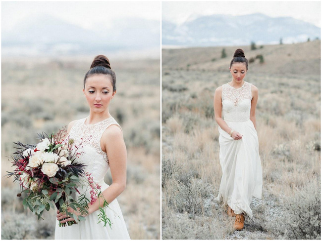 Bridal Fashion Spotlight Velvet Bride Featuring Sarah