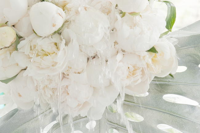 White Tulip and Peony Wedding Ideas - St Photography (7)