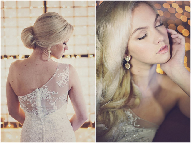 Chic, Glamorous Wedding Hairstyles {Debbie Lourens Photography}