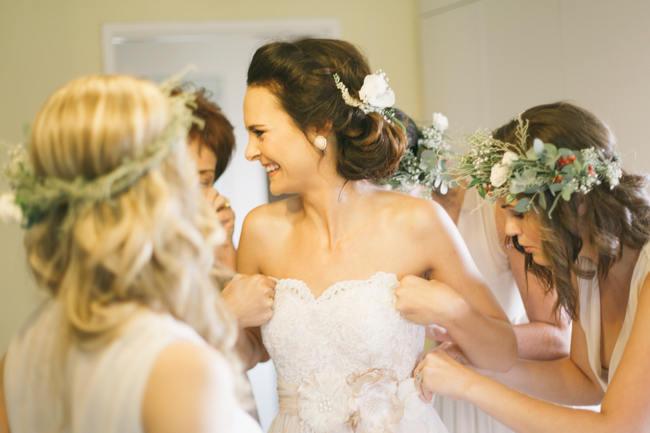 Earthy Farmstyle Rustic Wedding // Jenni ELizabeth Photography