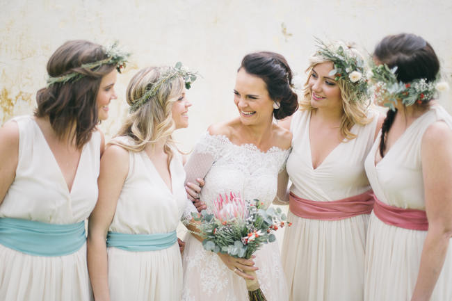 Bridesmaids //  Earthy Farmstyle Rustic Wedding // Jenni ELizabeth Photography