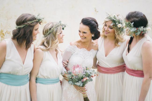 Bridesmaids //  Earthy Farmstyle Rustic Wedding // Jenni ELizabeth Photography