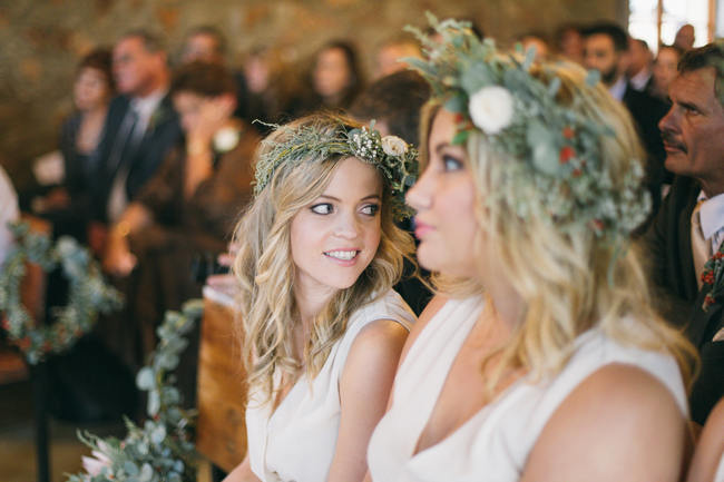Wedding Ceremony // Earthy Farmstyle Rustic Wedding // Jenni Elizabeth Photography