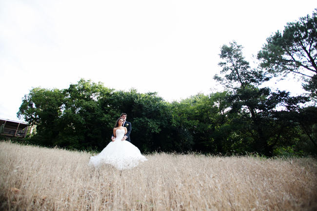 Outdoor Mountain Wedding Ceremony at Silvermist, Cape Town // Moira West Photography