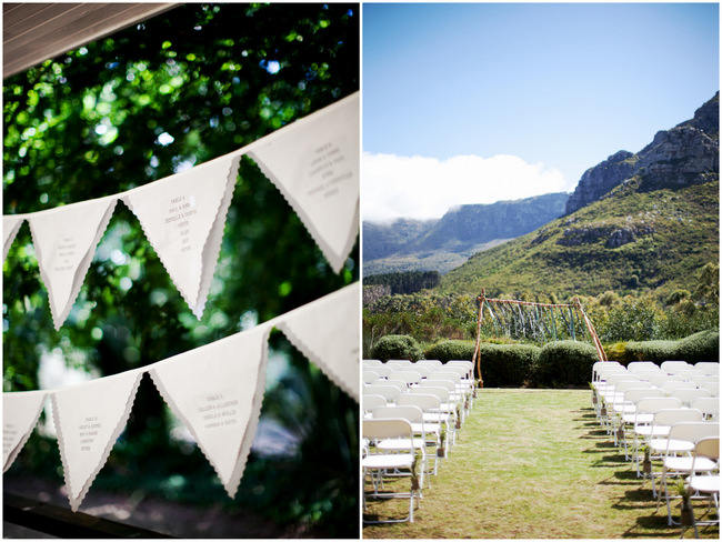 Organic Green and Grey Silvermist Wedding at Table Mountain {Moira West Photography}