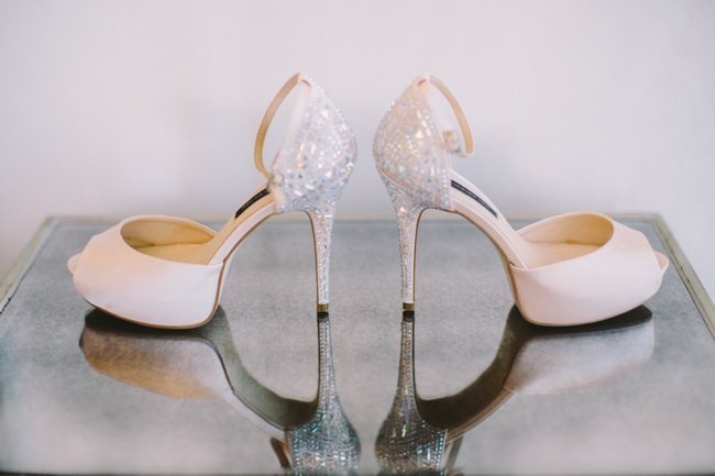 Sparkly Wedding Shoes // Elegant Grey and Burgundy Vintage Wedding at Nantes Estate // Charlene Schreuder Photography