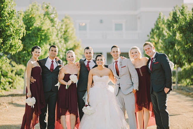 Light Grey Bridal Party