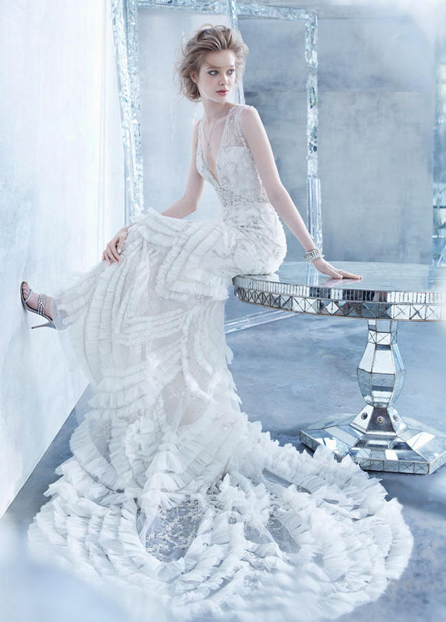 Lazaro Wedding Dress 2014 Bridal Collection