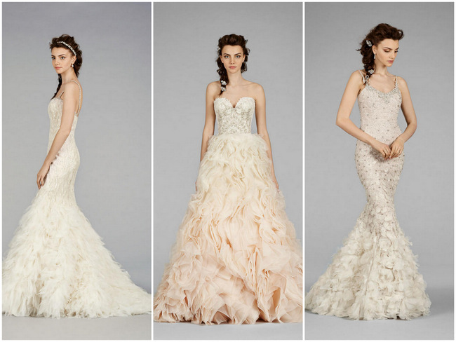 Flirtatiously Feminine: Lazaro Wedding Dress Fest! {Fall 2014 Collection }