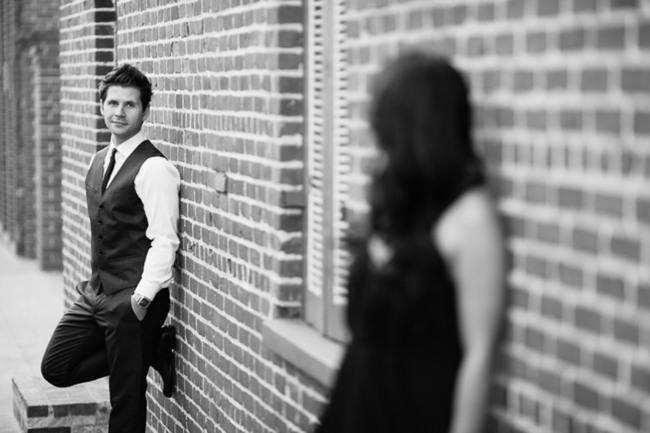 Los Angeles Union Station Engagement Couple Shoot - Thousand Crane Photography