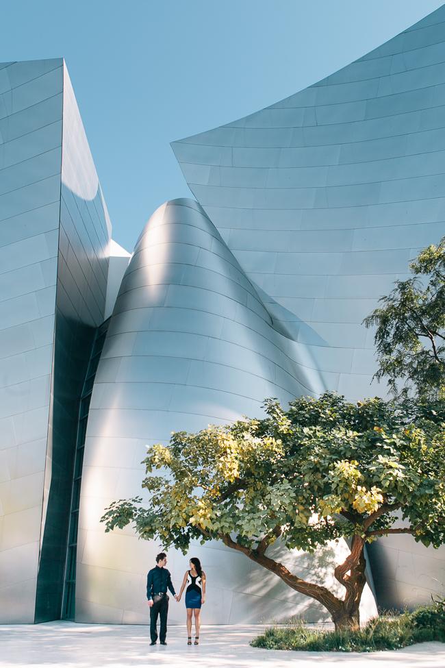 Los Angeles Union Station Engagement Shoot - Thousand Crane Photography (2)