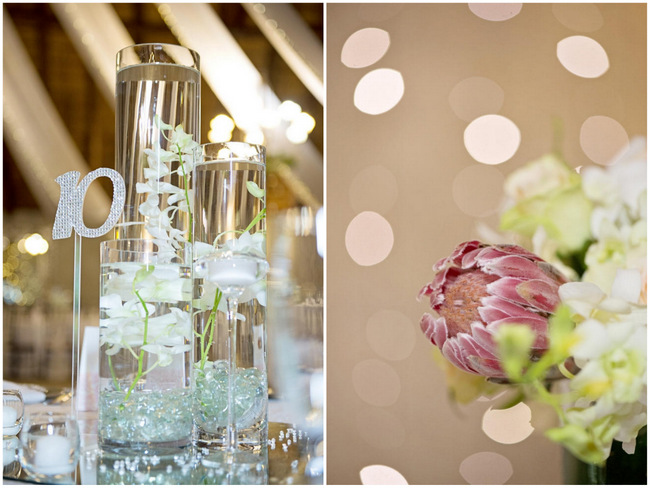 // Wedding Reception Decor // Pink and Grey Lace Filled South African Wedding // Stella Uys Photography