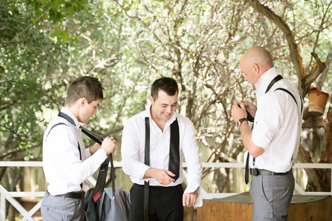 Groomsmen // Pink and Grey Lace Filled South African Wedding // Stella Uys Photography