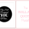 Printable Quote  My Heart Recognized You At Once  (2)