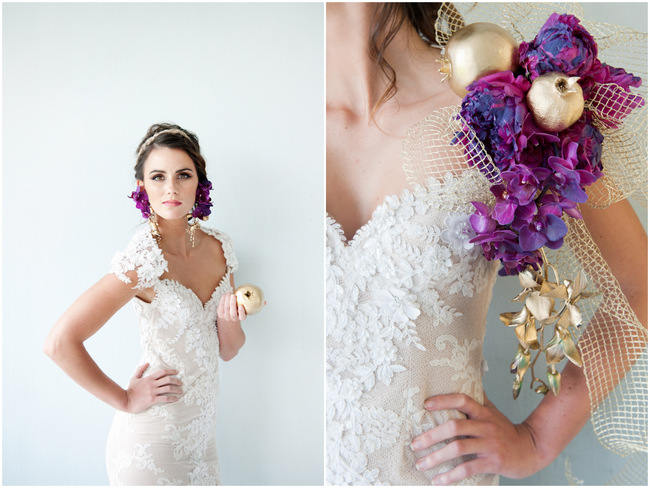 Wedding Stylist Sessions: The Bold, Passionate Bride {ST Photography}