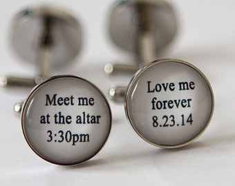 Wedding Cufflinks for Groom (1)