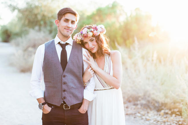 Arizona Desert Bohemian Engagement Session (12)