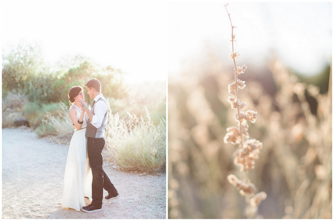 Arizona Desert Bohemian Engagement Session (15)