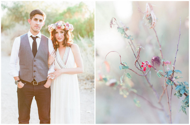 Arizona Desert Bohemian Engagement Session (16)