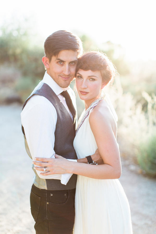 Arizona Desert Bohemian Engagement Session (5)