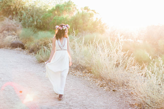 Arizona Desert Bohemian Engagement Session (9)