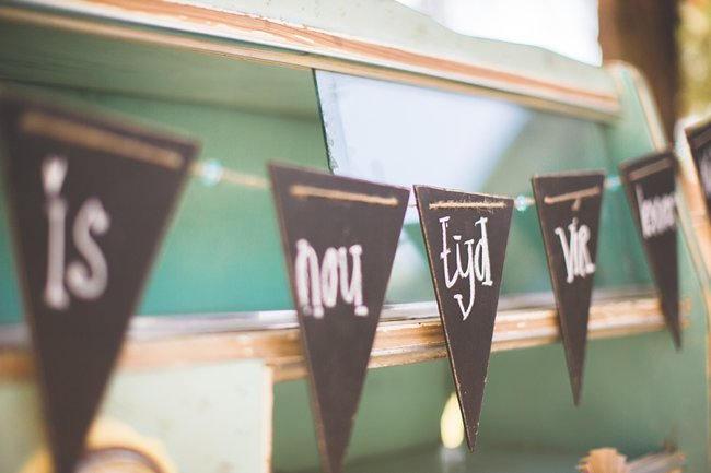 // Wedding Decor Ideas // Delightfully Handmade DIY Teal Turquoise Peach Vintage South African Wedding // Genevieve Fundaro Photography